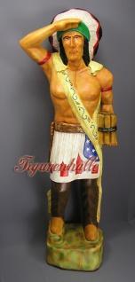 Indianer Country Dekoration Figur Skulptur Deko
