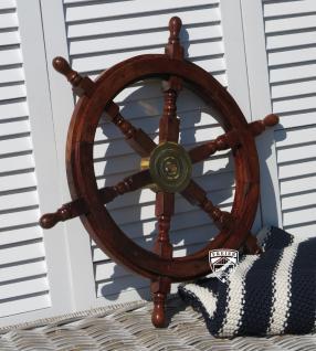 Steuerrad Segelschiff Holz Schiff Boot Modell Deko Maritim - Vorschau 5