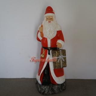 Weihnachtsmann Werbefigur in rot Figur Weihnacht Deko Dekoration für den Handel
