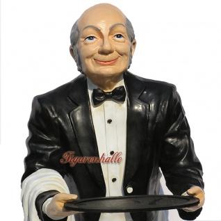 Butler Opa James Dekofigur Diner Figur Aufsteller - Vorschau 2
