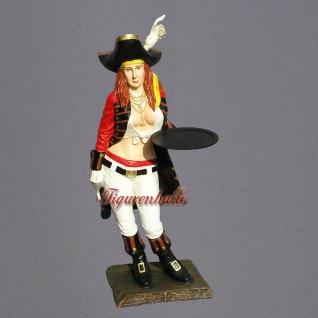 Pirat Dekofigur Statue Maritime Dekoration Pin Up