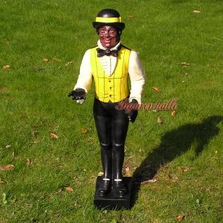 Boy Butler Figur Diner Afrikaner Black Figur