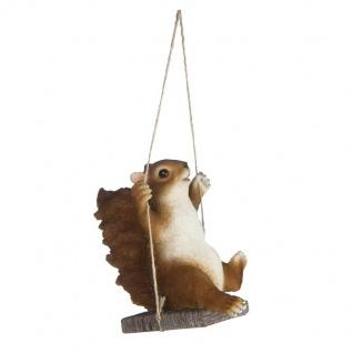 Eichhörnchen Figur Statue Skulptur Dekoration Deko Wald