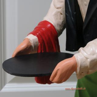 Butler Diener Kellner Dekofigur Deko Figur Opa - Vorschau 2