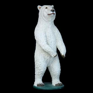 Riesen Eisbär Dekofigur Lebensgroß Bären Figur