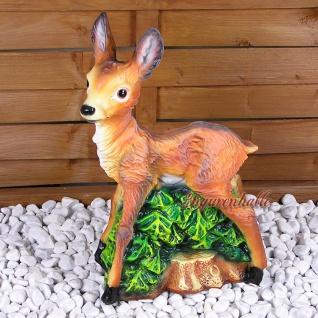 Reh Kids Gartenfigur Gartenzwerg Dekofigur Figur