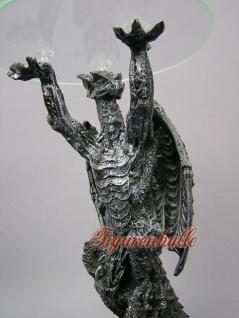 Drachentisch Dekofigur Drachen Figur - Vorschau 3