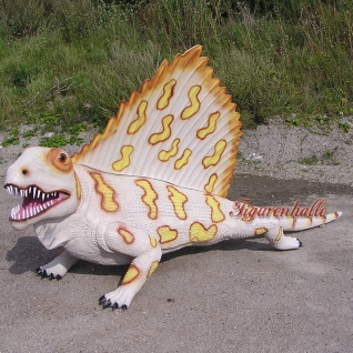Dinosaurier Dimetrodon Figur Statue Skulptur Deko