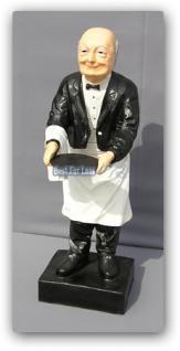 Butler Opa Diener Kellner Dekofigur Deko Figur - Vorschau 2