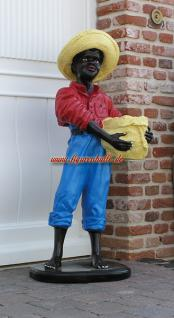 Black Boy Butlerfigur Diner Gartenfigur Statue - Vorschau 2