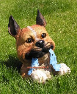 Buddelnder Hund Halberhund Grabender Hund Figur - Vorschau 2