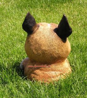 Buddelnder Hund Halberhund Grabender Hund Figur - Vorschau 3