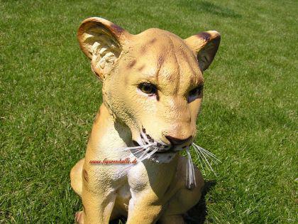Löwe Dekofigur Aufstellfigur Figur Deko Afrika - Vorschau 4