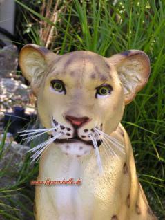 Löwe Dekofigur Aufstellfigur Figur Deko Afrika - Vorschau 5