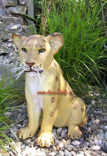 Löwe Dekofigur Aufstellfigur Figur Deko Afrika - Vorschau 3