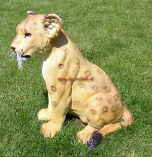Löwe Dekofigur Aufstellfigur Figur Deko Afrika - Vorschau 2