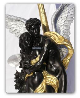 Engel Engels Lampe Armor Figur Stehleuchter Statue