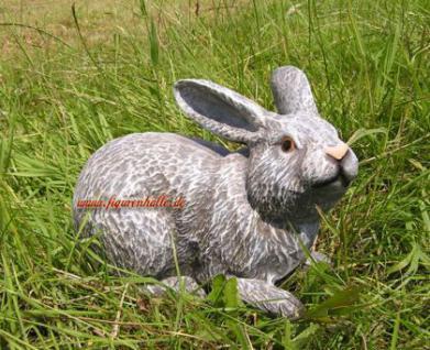Hase Kaninchen Figur Osterhase Deko Statue Dekoration zu Ostern