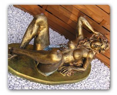 Nackte Frau als Couchtisch Figur Statue Erotik - Vorschau 2