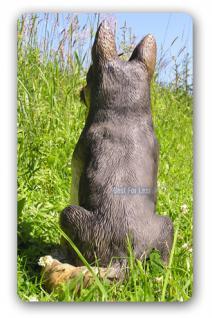 Deutscher Schäferhund Figur Deko Statue - Vorschau 4