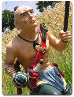 Indianer Country Dekoration Figur Skulptur Deko