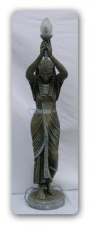 Ägypten Ägyptische Figur Statue Stehleuchter Lampe