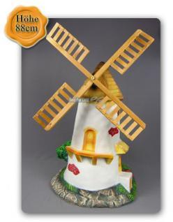 Windmühle Garten Gartenfigur Dekoration Deko Figur