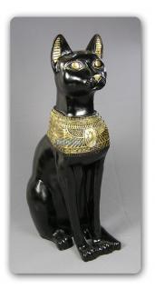 Ägyptische Katze Bastet Ägypten Statue Figur Deko