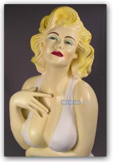 Marilyn Monroe Büste Figur Statue Deko Fan - Vorschau 3