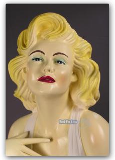 Marilyn Monroe Büste Figur Statue Deko Fan - Vorschau 2