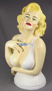 Marilyn Monroe Büste Figur Statue Deko Fan - Vorschau 1