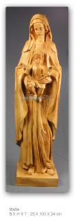 Madonna Figur Maria Mutter Gottes Heiligenfigur - Vorschau 3