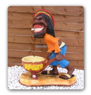 Rasta Mann Dekofigur Figur Jamaika Afrika Deko