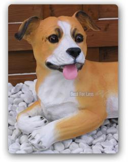 Staffordshire Bullterrier Hund Figur Statue Deko - Vorschau 2