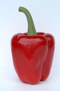 Riesen Paprika Werbefigur oder Aufstellfigur