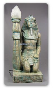 Ägyptische Lampe Ägypten Figur Statue