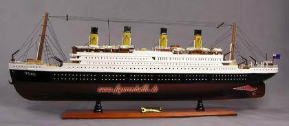 R.M.S. Titanic Modell Standmodell Holz Modell Schiffmodell