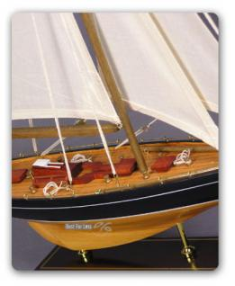 Selgelyacht Schiffsmodell Segelschiffmodel Modell - Vorschau 4