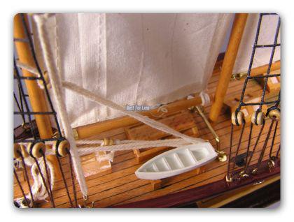 Holz Segelschiff Schiffsmodell Modellschiff Deko - Vorschau 2