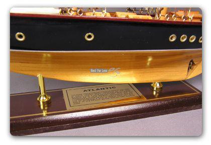 Holz Segelschiff Schiffsmodell Modellschiff Deko - Vorschau 3