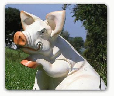 Schwein Sau Eber Dekofigur Figur Aufstellfigur - Vorschau 2