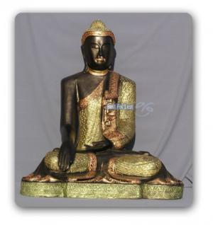 Thai Buddha Gartenfigur Garten Deko Dekoration
