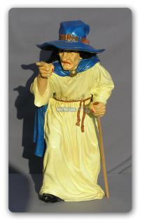 Hexe Halloween Dekoration Figur Statue Düstere