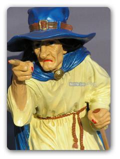 Hexe Halloween Dekoration Figur Statue Düstere - Vorschau 2