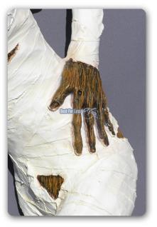 Ägyptische Mumie Figur Statue Skulptur Ägypten - Vorschau 3