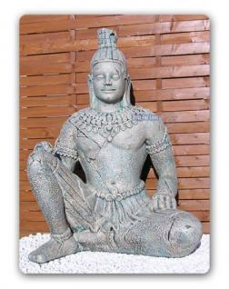 Angkor Figur Skulptur Statue fast lebensgroß Deko