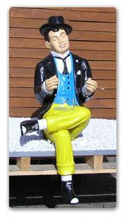 Mann lesend Figur Statue Skulptur Aufstellfigur
