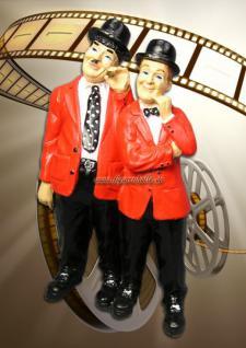 Dick und Doof Figur Statue Skulptur Aufstellfigur - Vorschau 3