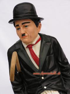 Charles Chaplin Deckofigur mit Stock Figur Deko