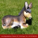Esel Maultier Dekofigur Gartenfigur Figur Statue